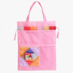 모시 에코 가방(연분홍색)