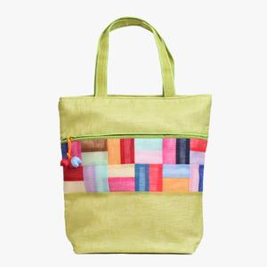 모시조각 가방(연두색)