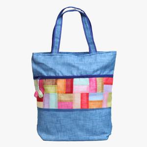 모시조각 가방(벽색)